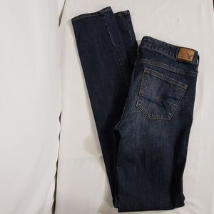 American Eagle Jeans Skinny Super Stretch 4 X-Long